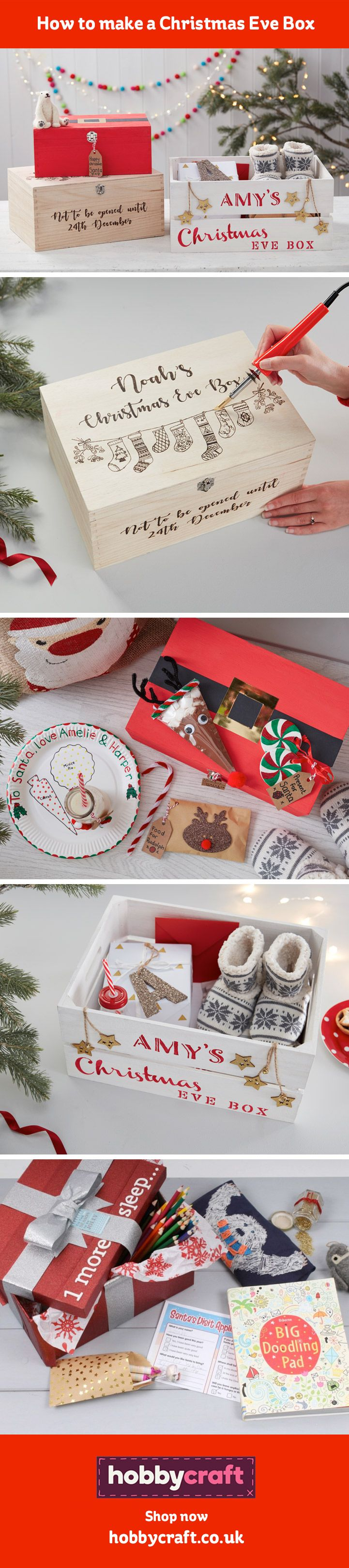 A Christmas Eve Box has become one of our favourite new holiday traditions. Make the night before Christmas extra special by packing a personalised Christmas Eve box full of little treats for the whole family to open together and enjoy.