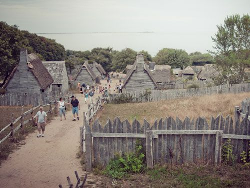 Scholastic Virtual Tour Plimoth