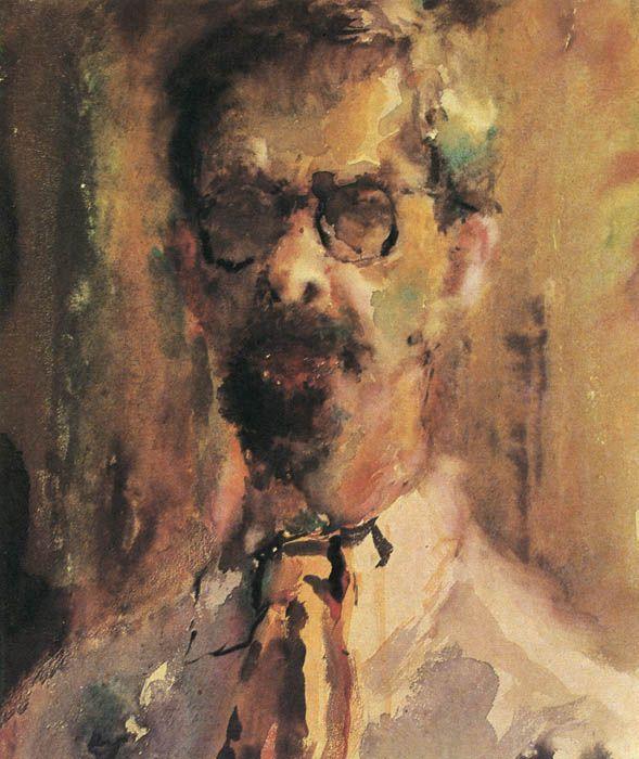 Artur Fonvizin. Self-portrait