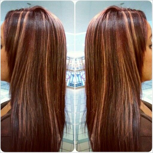 15 best hair color images on pinterest braids hair and hair care red violet base with allover blonde streaks hair haircolor matrix regis pmusecretfo Choice Image