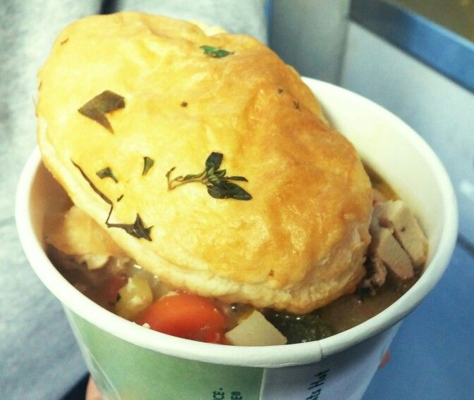 Chicken Pot Pie from Guelph Lake Big Chill event on Family Day