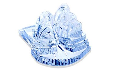 Waterford Crystal Paper Weight Image