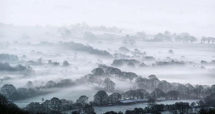 Magical Misty Landscape