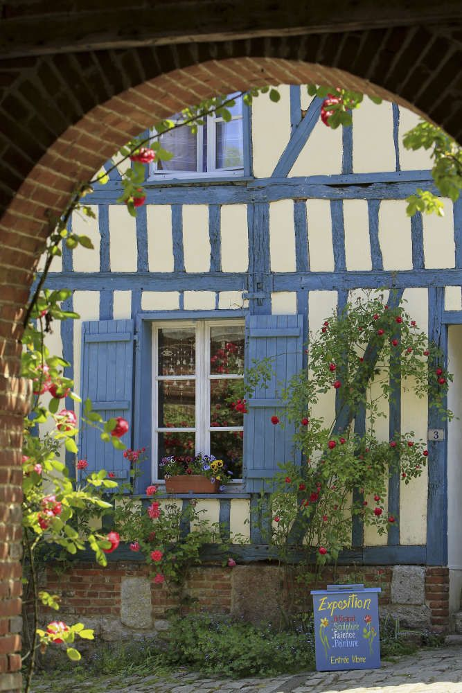 Gerberoy - l'un des plus beaux villages de France - Oise Tourisme