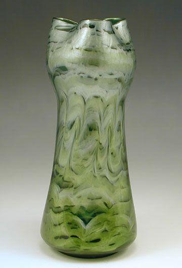 Loetz Iridescent glass vase  Austria, c.1905
