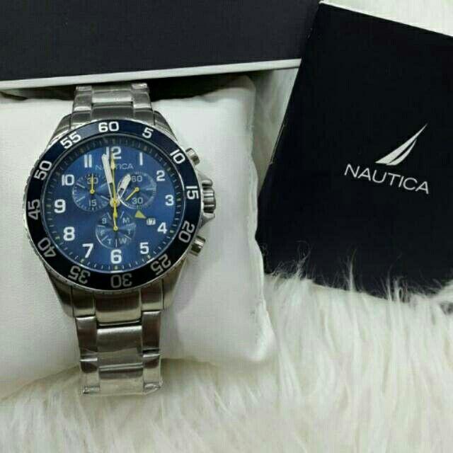 Temukan dan dapatkan Jam Tangan Pria Nautica NAI17508G Silver Rantai Original Murah hanya Rp 2.030.000 di Shopee sekarang juga! http://shopee.co.id/azshop30/195955565 #ShopeeID