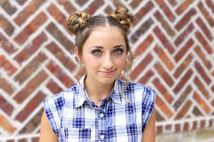 Back to School Buns | Cute Girls Hairstyles