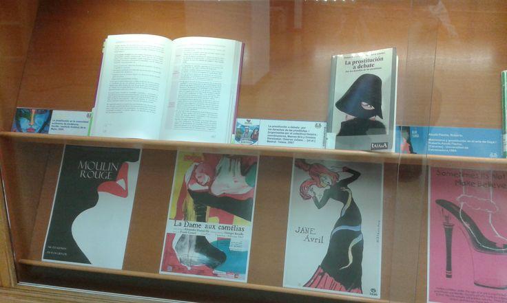 Exposición en la Biblioteca de Ciencias de la Salud.