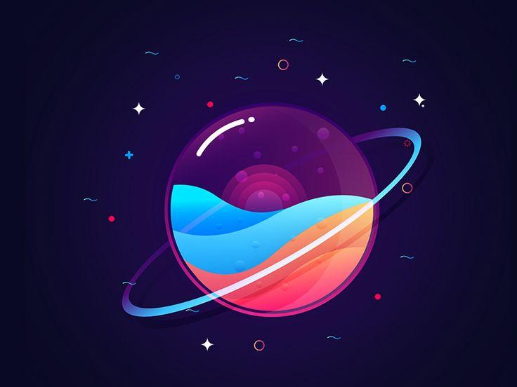 Sunset Planet by Sanni sahil