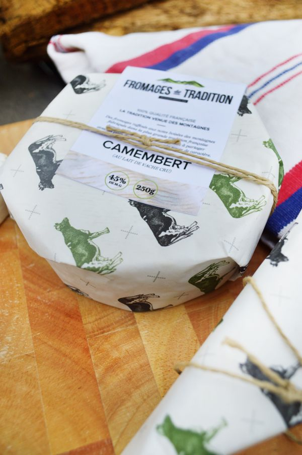 Fromages de Tradition on Packaging Design Served