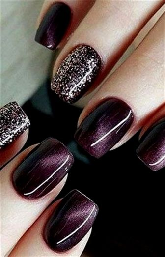 65 wunderschöne Herbst Nail Art Designs zum Probieren – ⭐ Nail Designs ⭐