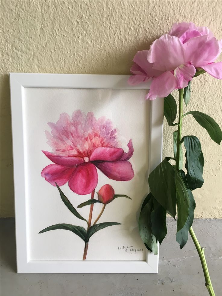 Botanical painting class at Craftcrowd