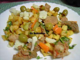 AS PAPINHAS DOS BABINHOS: Carne Porco à Alentejana / Portuguesa - http://aspapinhasdosbabinhos.blogspot.pt/2010/06/carne-porco-alentejana-portuguesa.html