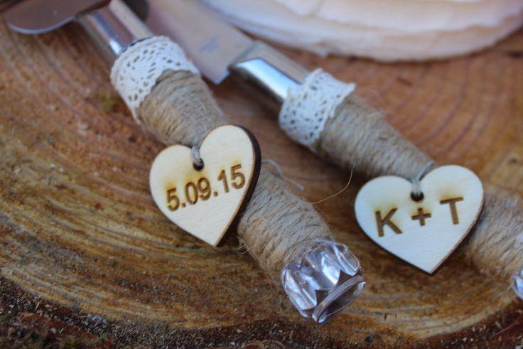 Wedding cake knife, Rustic Wedding Decor, Cake Knife, Cake cutter, Personalized Cake Serving Knife, Cake Cutter Set, Rustic Cake Server Set by CharlieChalkDesigns on Etsy https://www.etsy.com/listing/224222597/wedding-cake-knife-rustic-wedding-decor