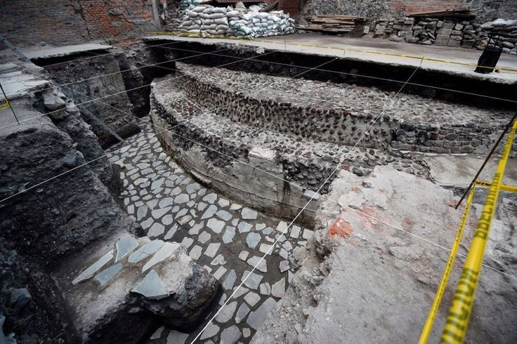 Ancient Aztec Temple Discovered In Mexico City - https://www.deviantworld.com/world/ancient-aztec-temple-discovered-mexico-city/