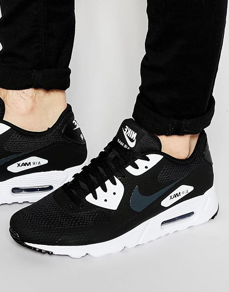 Image 1 ofNike Air Max 90 Ultra Essential Trainers 819474-001