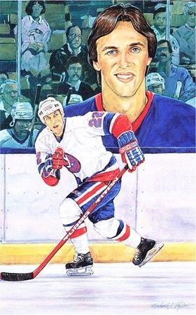 Hockey Legends Portrait - Mike Bossy