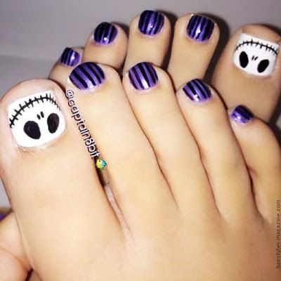 10 BELLESALUD: HALLOWEEN PEDICURE. Vídeo diseño paso a paso