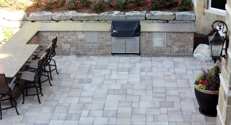 Brick Paver Designs For Patio Floorcombined With Rectangle