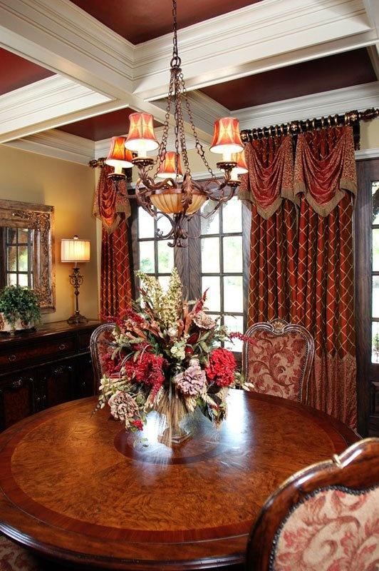 Beautiful window treatments from M'Fay Patterns