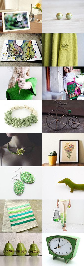 Green gifts by Camilla Agathe Lande Jensen on Etsy--Pinned with TreasuryPin.com