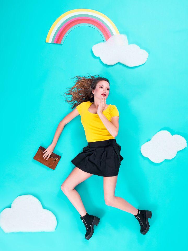 Salone Split Skirt. Kling Spring 14.