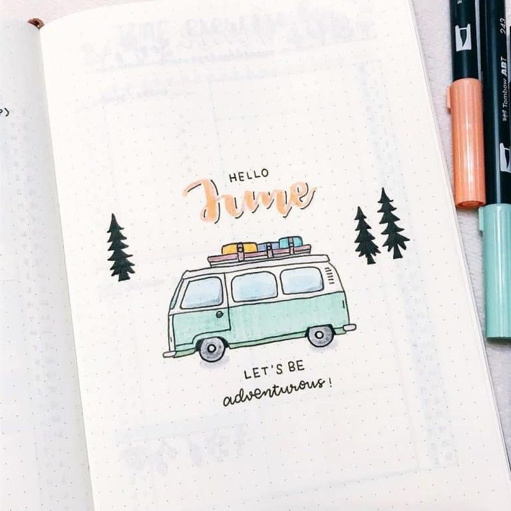 50 Travel Inspired Bullet Journal Spreads Bullet …