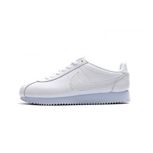 Beste Nike Cortez Herre Dame Hvit Joggesko