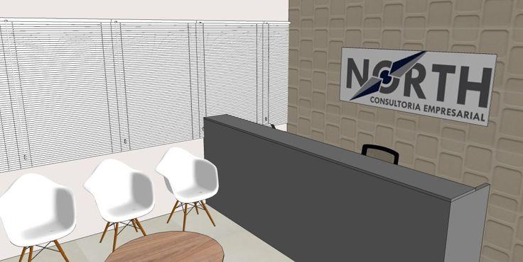 Escritório NC - Reforma de sala comercial no Edifício Fórum Business, para transformar o local, entregue totalmente cru, em um escritório de consultoria. Foi feita a organização do novo layout e utilizadas divisórias de vidro com persianas internas da Design On e móveis corporativos Codbr (Amazonia Flex). Manaus, AM - Baré Arquitetura