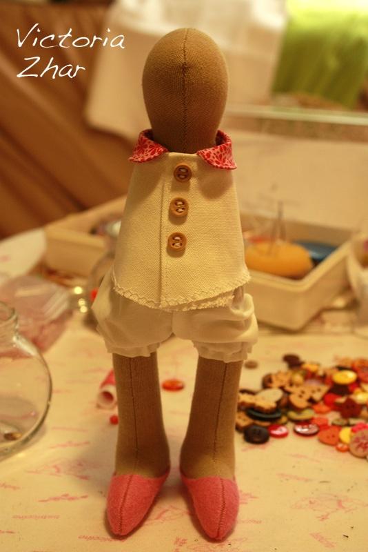 Soul crafts: МК одежда для зайки