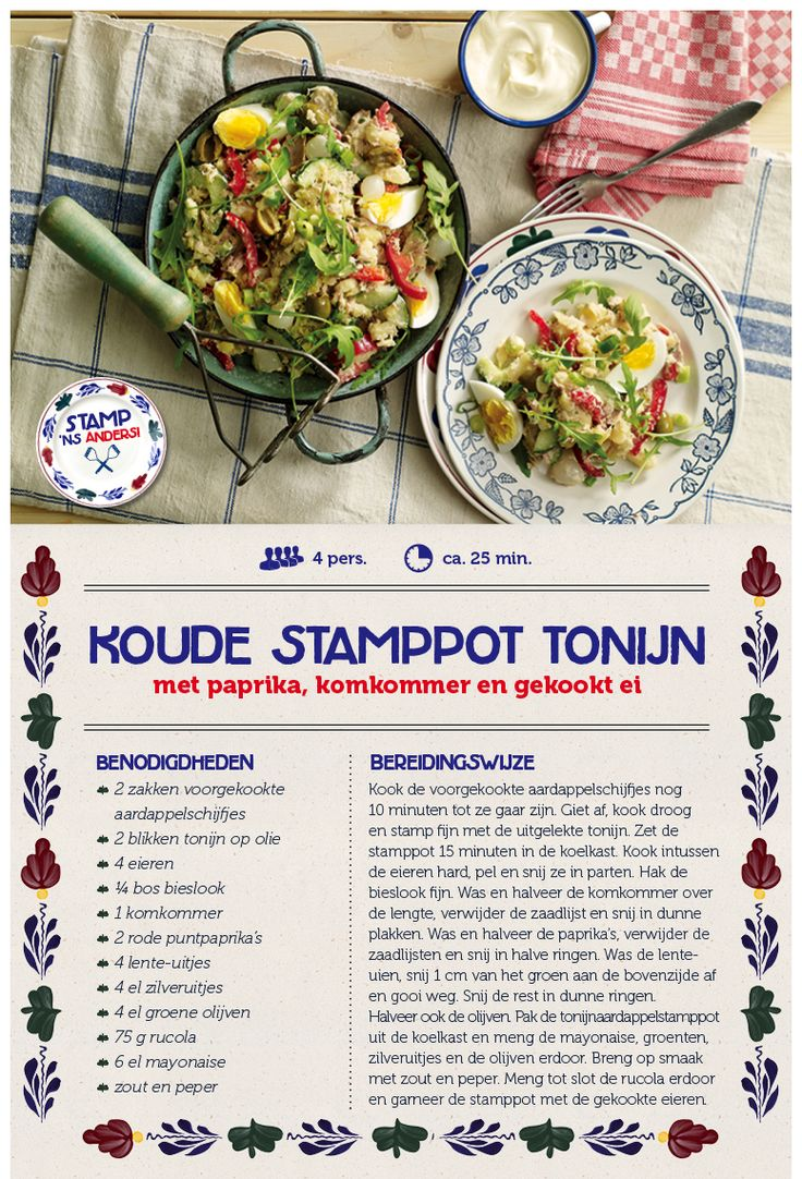Koude stamppot tonijn - Lidl Nederland