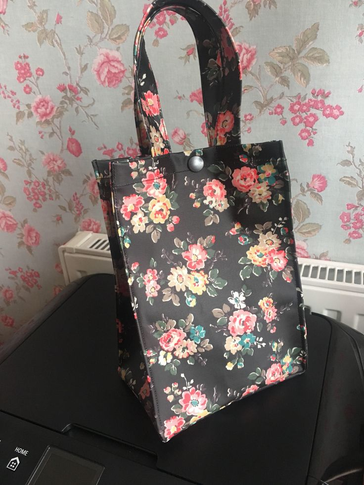 A personal favourite from my Etsy shop https://www.etsy.com/uk/listing/589329091/lunch-bag-made-in-cath-kidston-spray