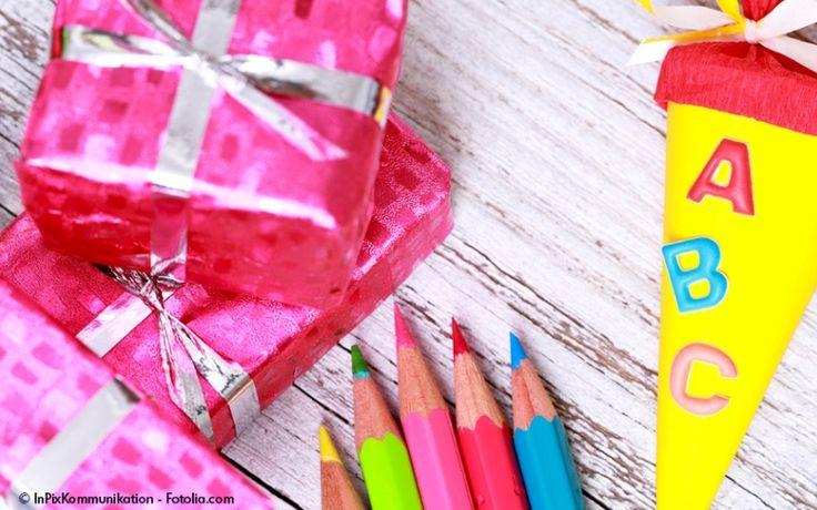 Geschenkideen zur Einschulung: Last-Minute-Geschenke für den Schulanfang