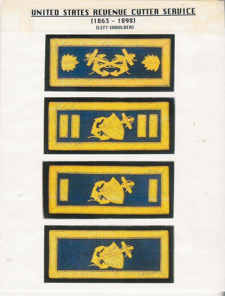 18631015 United States Cutter Service Uniforms & Insignia