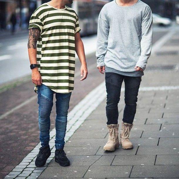 Macho Moda - Blog de Moda Masculina: Calça Biker Jeans, você usaria?