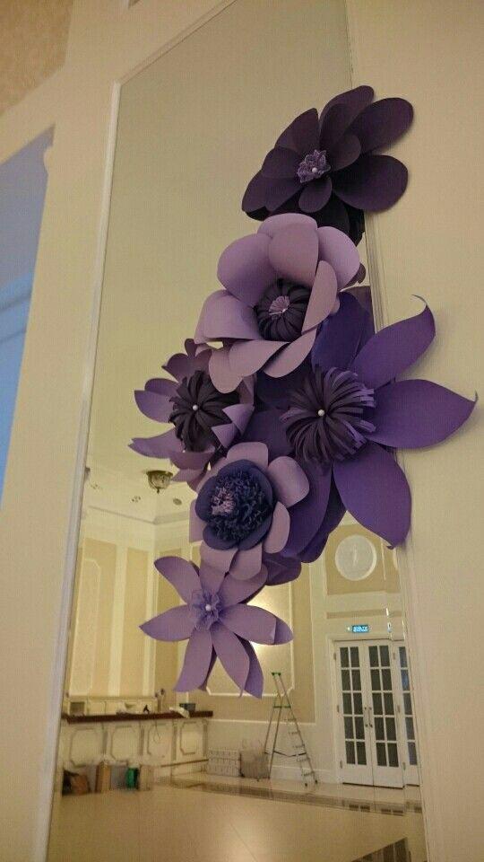 Najnowszy trend - dekoracje z papierowych kwiatów