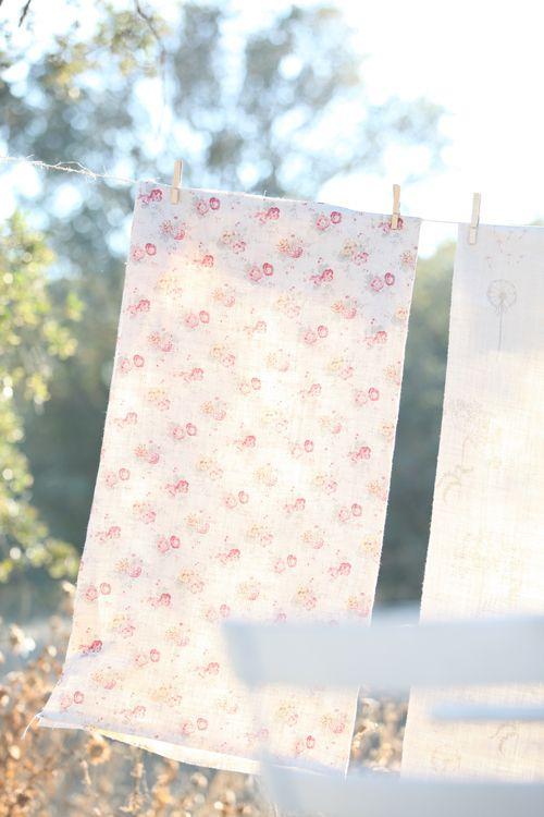 Dreamy Whites: Peony & Sage Fabrics by Kimberley Bell