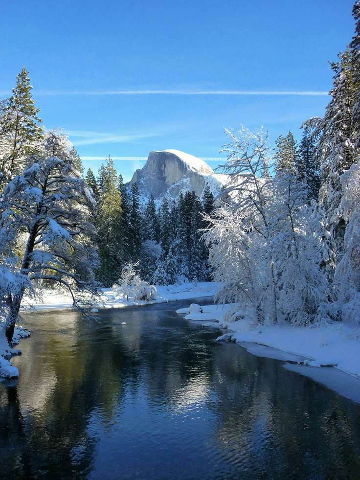 """""""Yosemite Valley, to me, is always a sunrise, a glitter of green and golden wonder in a vast edifice of stone and space.""""   Ansel Adams"""