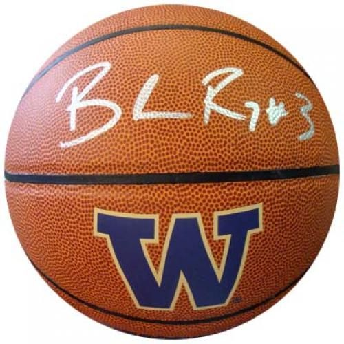 Brandon Roy Autographed Washington Huskies Basketball - Sports Memorabilia