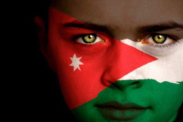 Jordan Flag Boy Capital: Amman