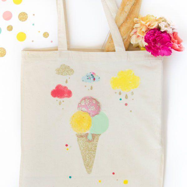 Un tote-bag glace / Ice cream ice cream