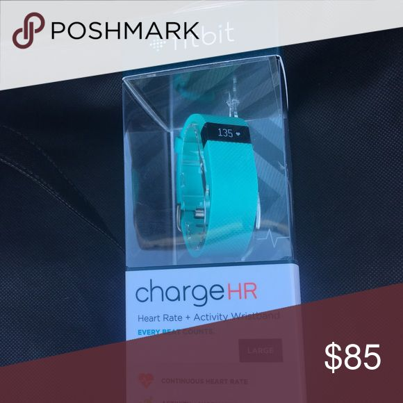 Selling this Fitbit Charge HR on Poshmark! My username is: jujuu01. #shopmycloset #poshmark #fashion #shopping #style #forsale #Fitbit #Accessories