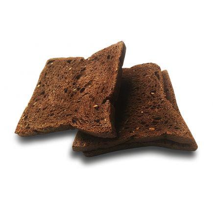 TOAST CHOCO LINÉADIET X 5 Biscottes chocolat riches en protéines et en fibres avec une faible teneur en sucre.  Nous avons sélectionné ce produit pour la qualité nutritionnelle de ses ingrédients, et le réel plaisir gustatif qu'il apporte. 3 biscottes peuvent remplacer  un sachet hyperprotéiné au cours d'un repas accompagnés de légumes ou salade.