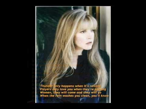 Dreams by Fleetwood Mac - written by singer Stevie Nicks, for Fleetwood Mac's 1977 album, Rumours. The song was the only U.S. number one hit for the group, and remains one of their best known songs.