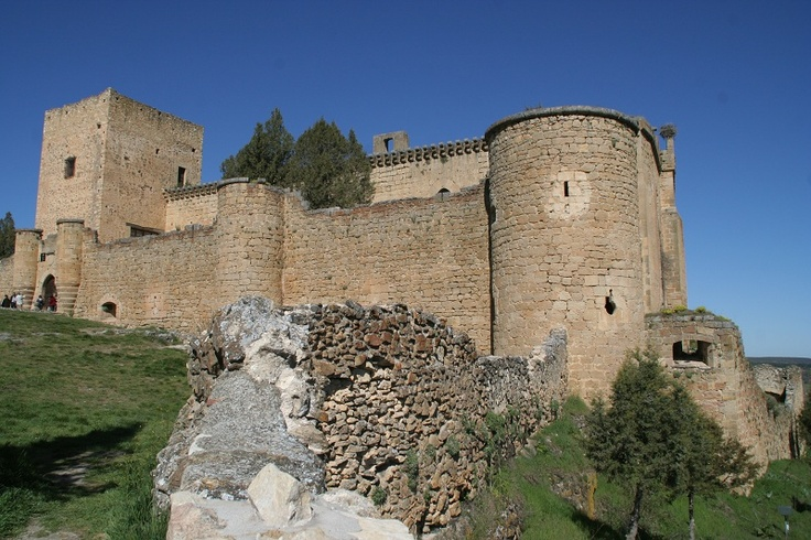 Pedraza Castle.  My great-grandmother sold it to painter Ignacio Zuloaga in 1925.