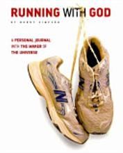 Running With God, currently reading on Kindle