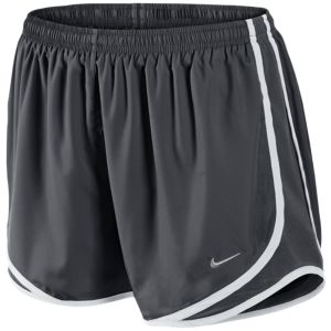 Nike Tempo Shorts - Women's - Anthracite/Anthracite/White/Matte Silver