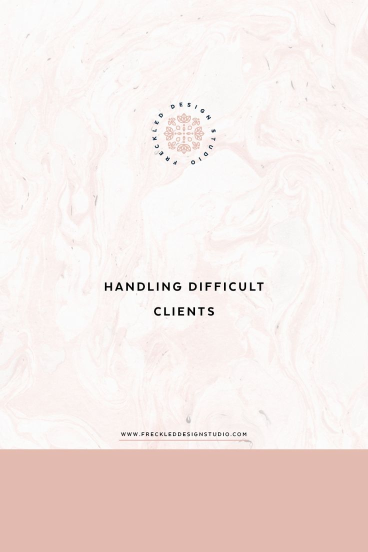 Need some tips on handling difficult clients? Click through to read 4 ways to handle this is in your business.