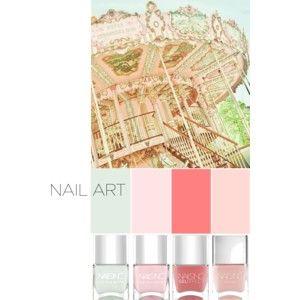 Nail Art: Pink & Green