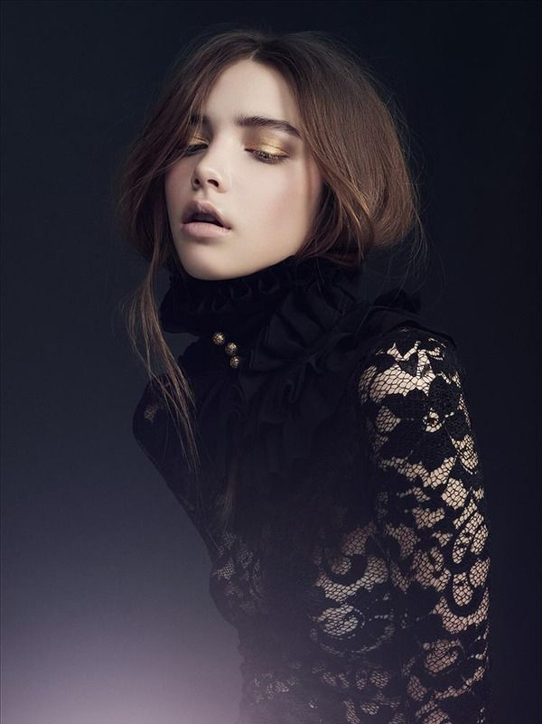 LeForquet Magazine: Gold and Lace on Makeup Arts Served